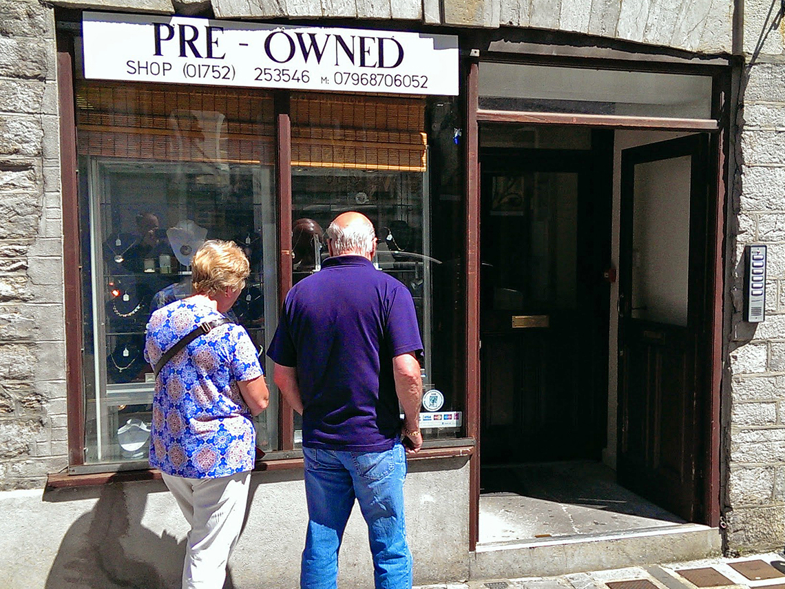 pre owned jewellery in plymouth barbican southside street uk
